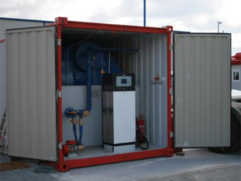 Kontajner pre čerpaciu stanicu na prenájom