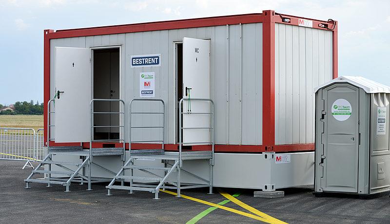 MOBILBOX - sanitarny kontajner
